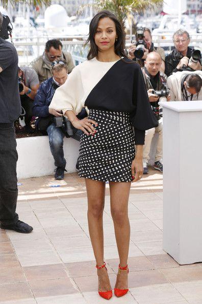 Zoe Saldana Photos: 'Blood Ties' Photo Call in Cannes