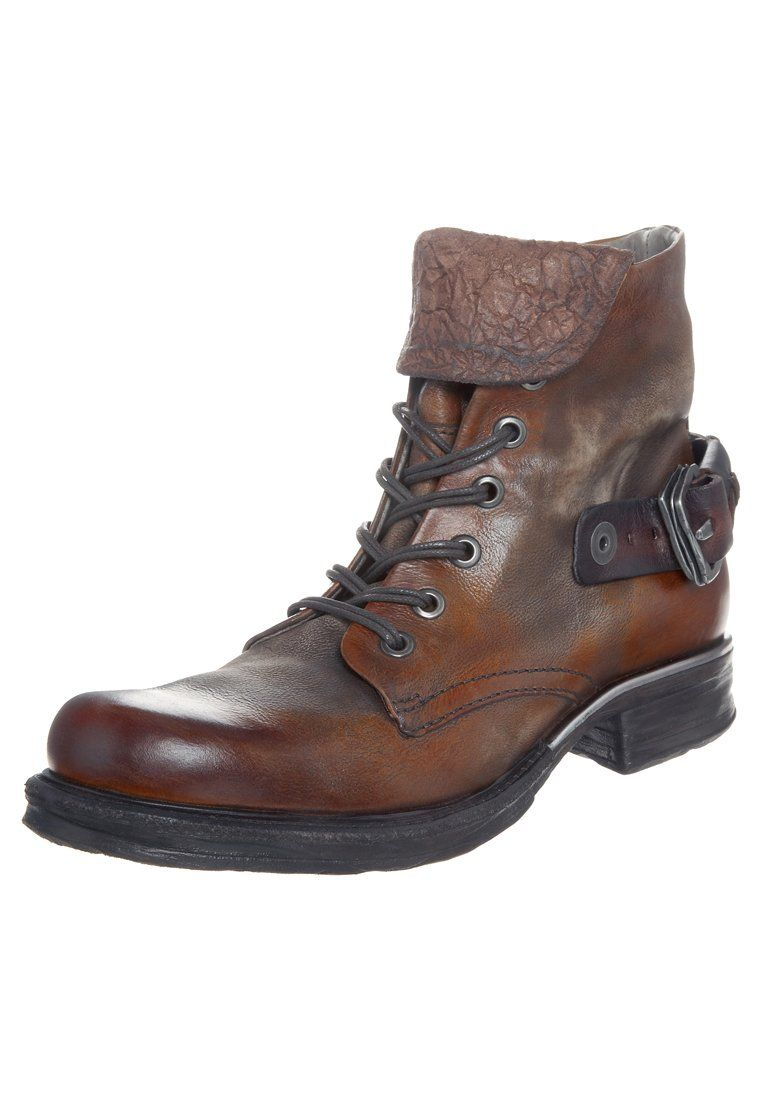A.S.98 - SAINTMETAL - Lace-up boots - brown