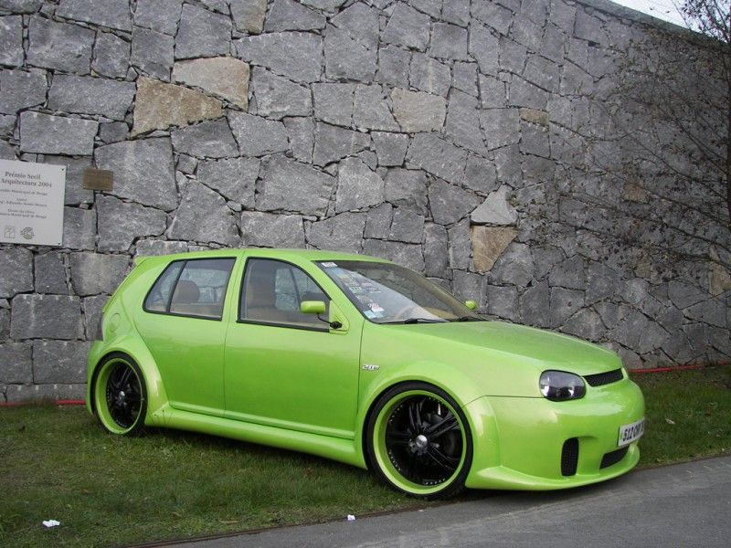 vw golf iv tuning car tuning pinterest car tuning. Black Bedroom Furniture Sets. Home Design Ideas
