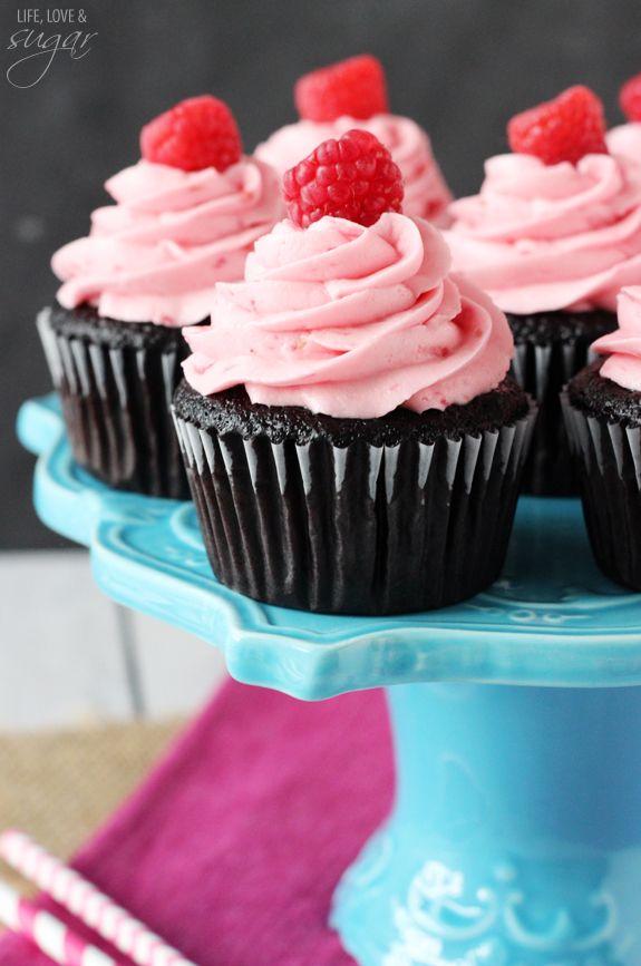 Raspberry Chocolate Cupcakes Recipe With Images Cupcake