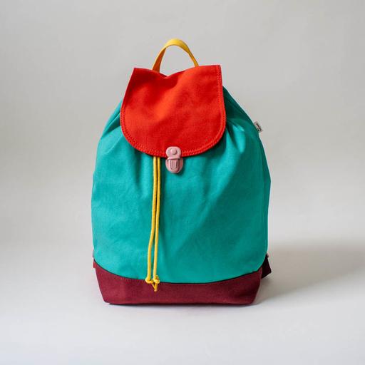 ALL Knitwear + Baggu Cactus Color Block Backpack at Zakka Shop