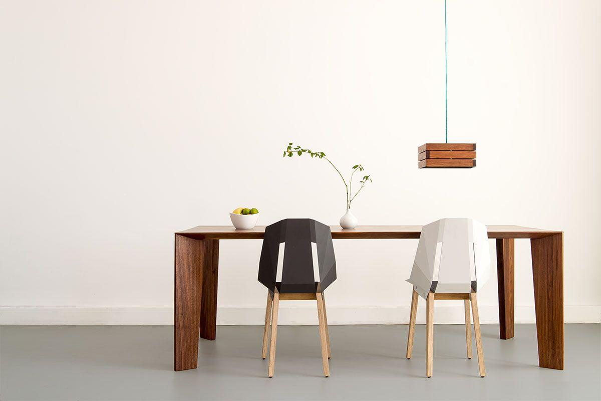 Tabanda Diago | moderner Design Stuhl mit Alu Sitzschale | Interiors