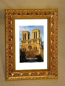 72 410 4x6 Gold Leaf Wooden Horizontal Or Vertical Picture Photo