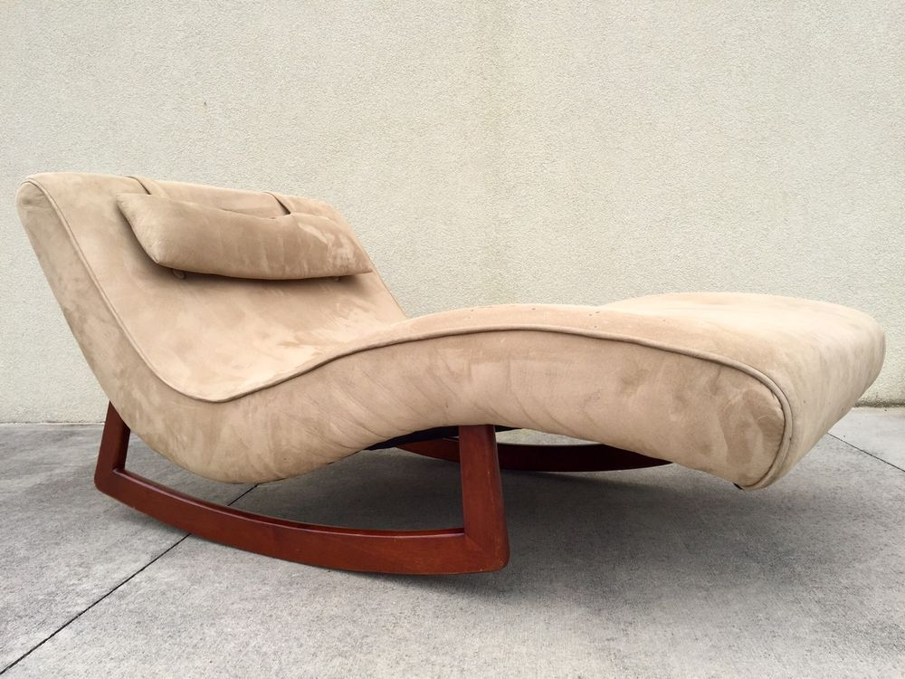 Mid Century Modern Chaise Lounge Adrian Pearsall Rocking Rocker Wave Kagan : adrian pearsall rocking chaise - Sectionals, Sofas & Couches