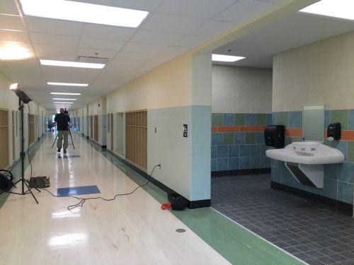 Bathroom Remodel At John Pershing Elementary In Lincoln NE KJP - Bathroom remodel lincoln ne