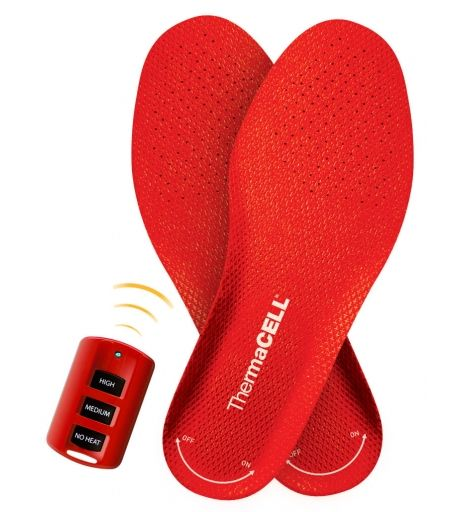 Heated Insoles Foot Warmers - my mom would love these!