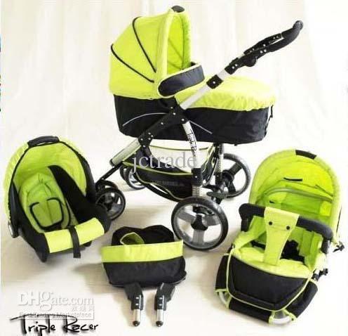 Germany Brand Triple Racer Baby Luxury Stroller Stroller Strollers ...