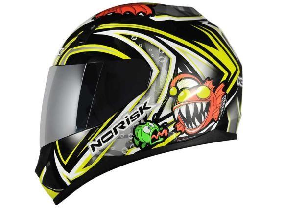 Confira o novo desenho de um dos capacetes da NoRisk: http://www.consorcioparamotos.com.br/noticias/norisk-lanca-novos-modelos-de-capacete?utm_source=Pinterest