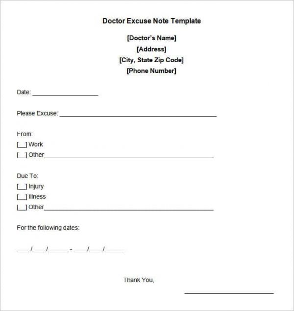 dr sick note template dtk templates