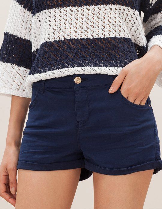At Stradivarius you'll find 1 Short tiro alto for woman for just 299 MXN . Visit now to discover this and more SHORTS.