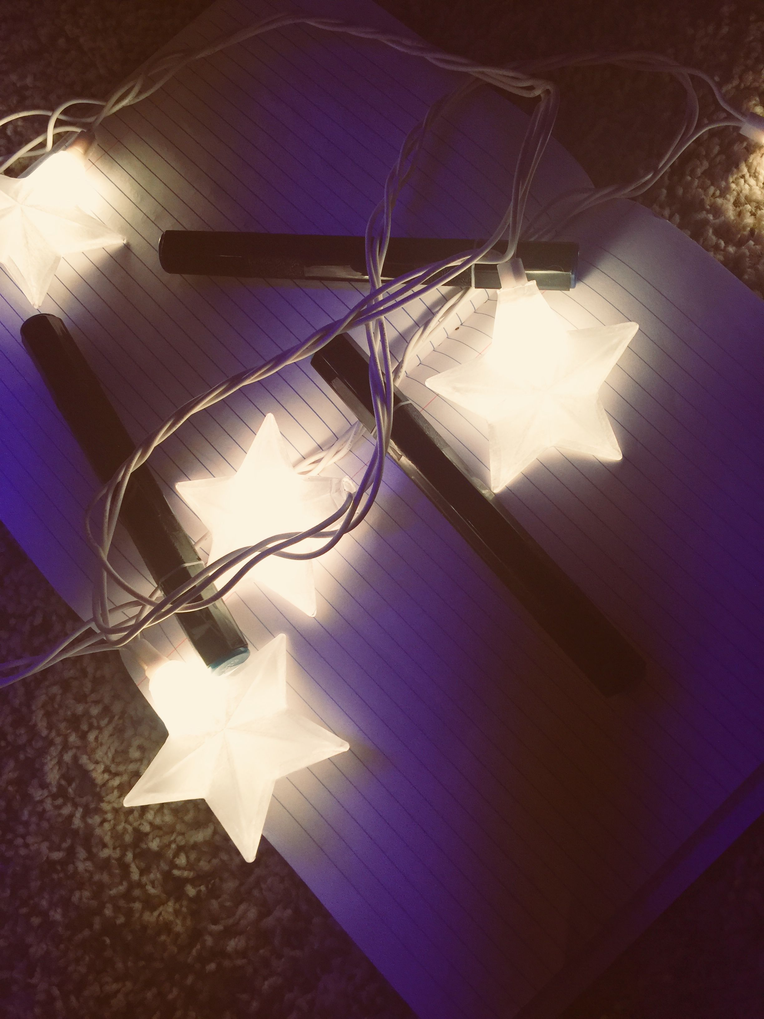 Purple Star Lights
