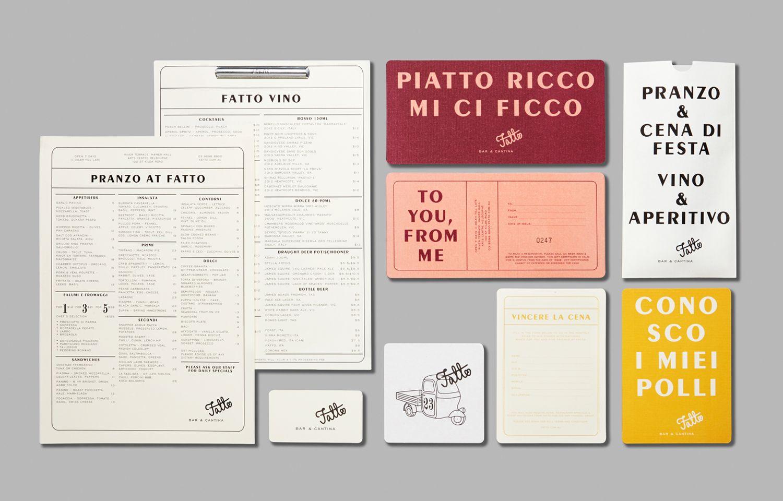 Fatto — Corinne Theodore Graphic design branding