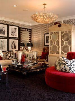 Bandanamom: Hollywood Regency - The Glamour of Decor Styles