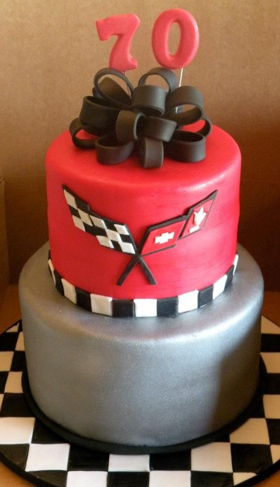 Corvette 70th Birthday Cake Cake Chick S Cakes