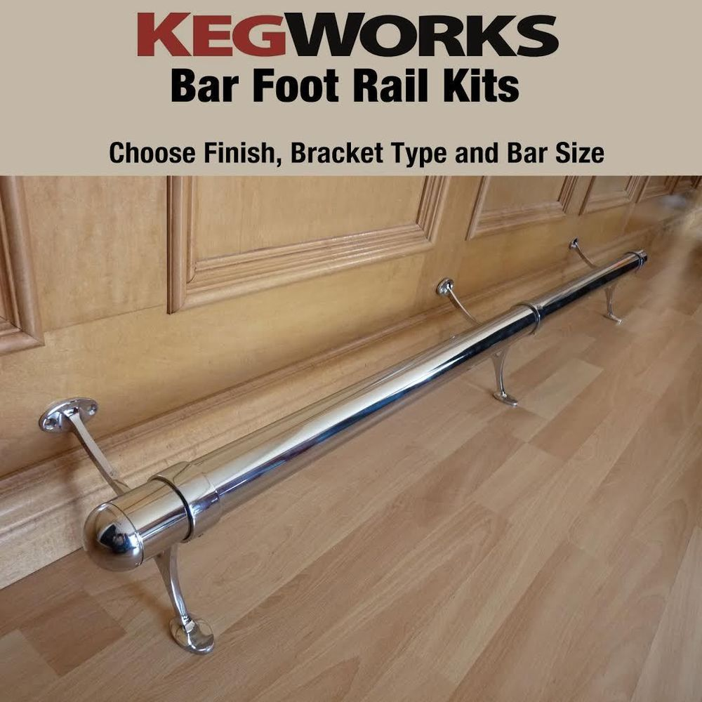 Pin On Bar Foot Rail