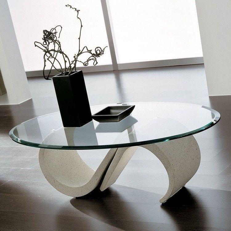Reynald Tavolo Da Fumo In Vetro Ovale Bisellato 120 X 70 Cm Stile Classe E Design Italiano Si Fondono Alla Perfezione In Qu Tavolini Salotto Moderno Salotto