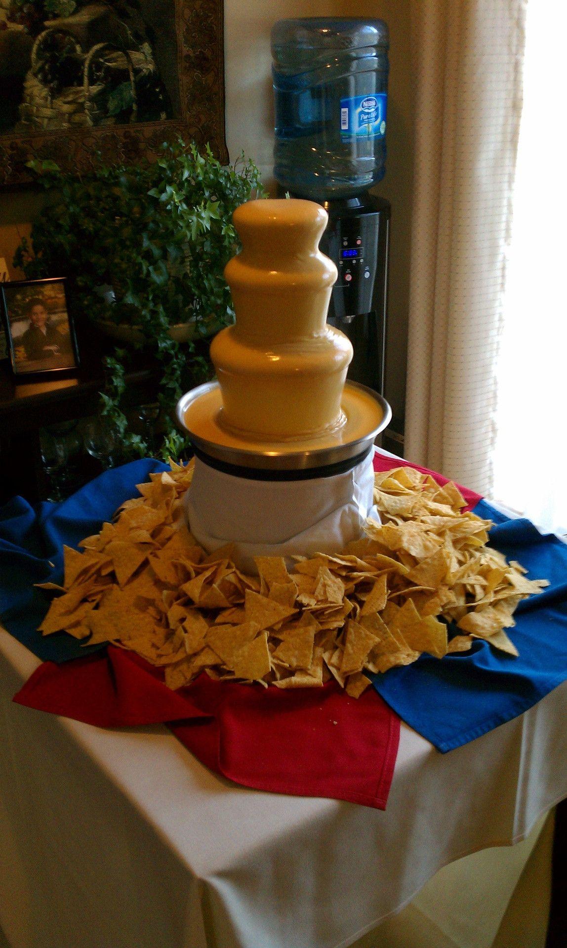 cheese fountain