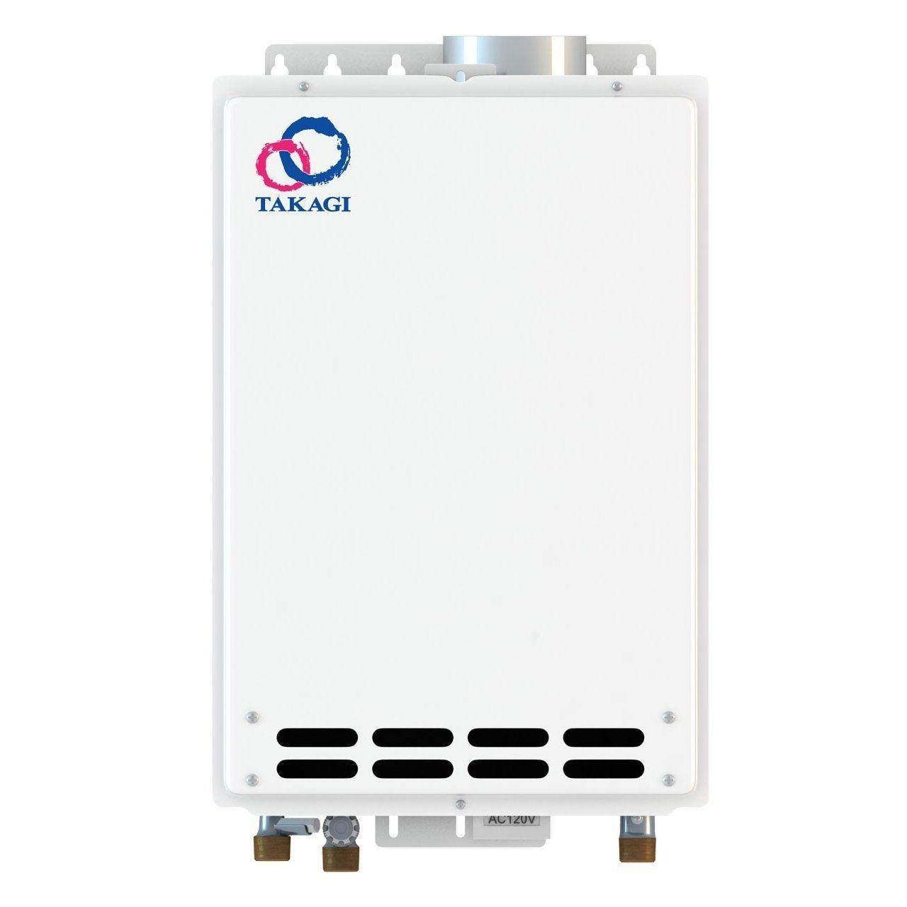 takagi tankless water heater. Takagi T-KJr2-IN-LP Indoor Tankless Water Heater, Propane - Heater