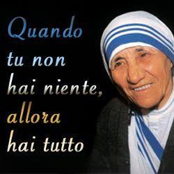 Immagini Di Madre Teresa Di Calcutta Luce Madre Teresa