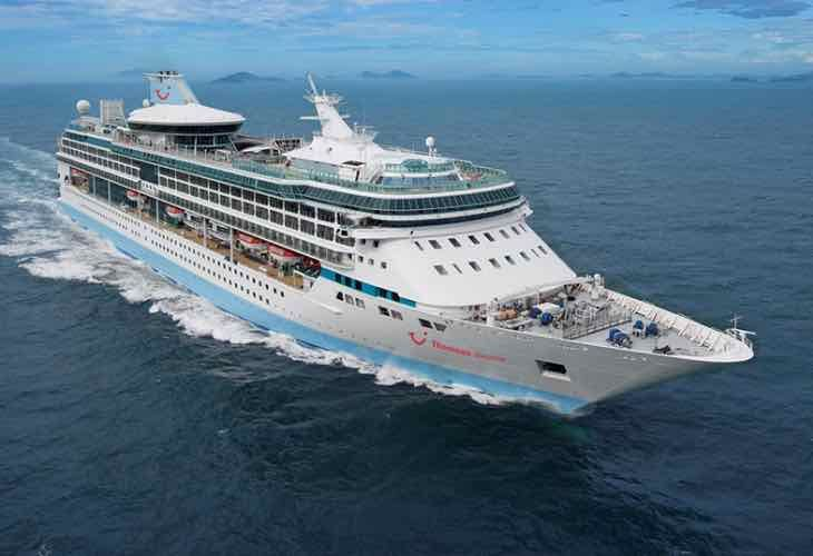 Thomson Discovery Winter Itinerary Changes Ship - Amadea cruise ship itinerary