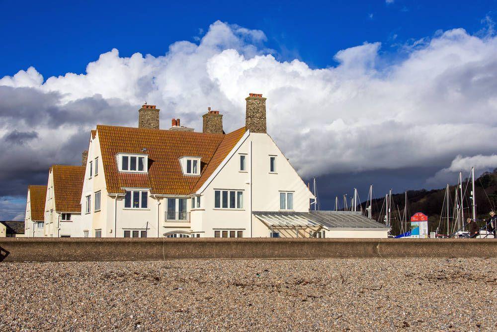 Edwardian house beside the beach for sale in Devon