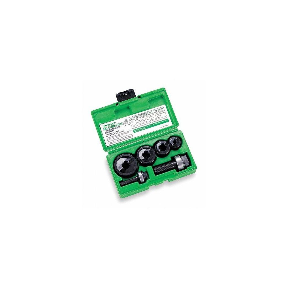 Steel GREENLEE 52084899 10 Piece Manual Punch Driver Set 10 ga