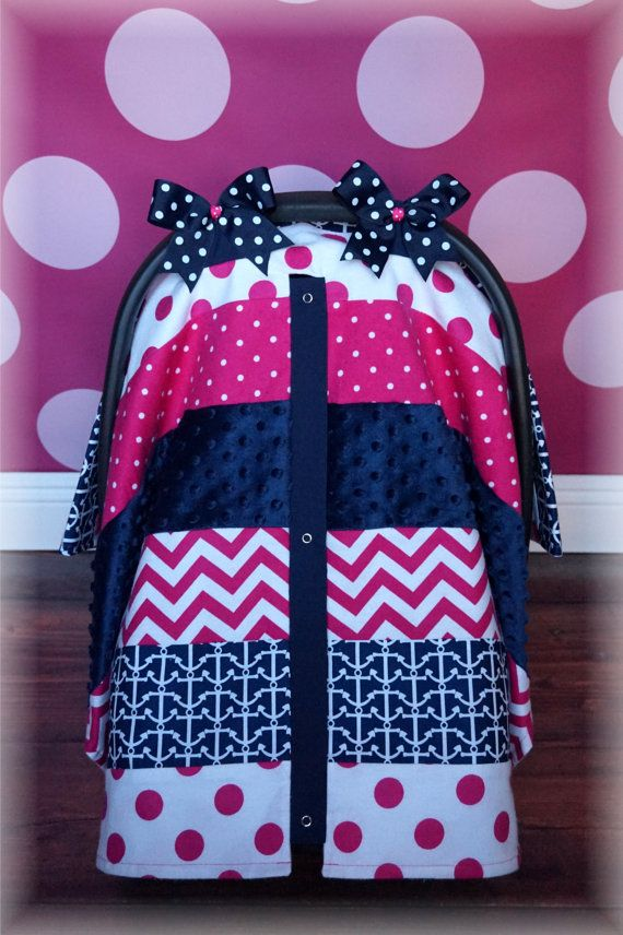 NEW MINKY Carseat Canopy Car Seat Cover By JaydenandOlivia On Etsy