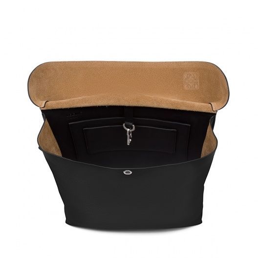 Loewe Bags - MILITARY POCKET LARGE BAG Black