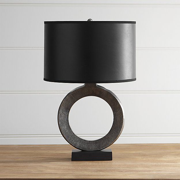 Crest Table Lamp With Black Shade Lamp Table Lamp Black Lamps