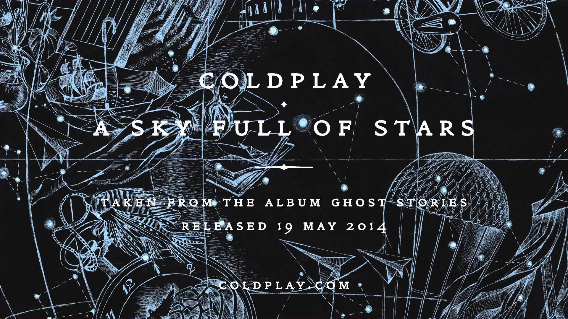 """Coldplay's new album """"Ghost Stories"""" holds for a second week at No 1"""