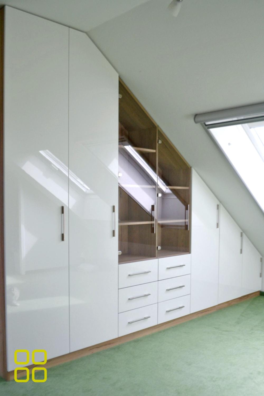Einbauschrank Fur Dachschrage Schrankwerk De In 2020 Einbauschrank Badezimmer Bauen Einbauschrank Dachschrage