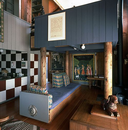 Charles Moore S Sea Ranch Cabin Interior With Images Sea Ranch