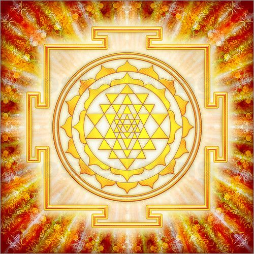 poster sri yantra artwork licht in 2018 sri yantra pinterest sri yantra heilige. Black Bedroom Furniture Sets. Home Design Ideas