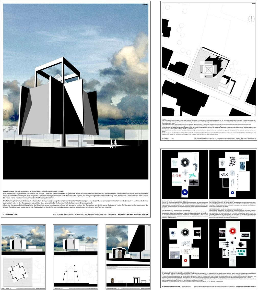 Architectural presentation layout Amazing Architecture