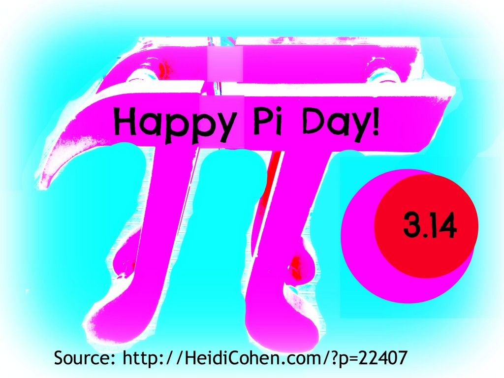 Happy Pi Day 3 14 A Circle Full Of Online Data Points Social Media Contentmarketing Happy Pi Day Generation Online