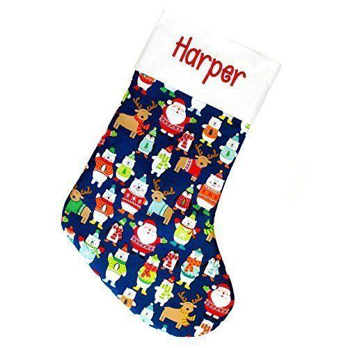 kids christmas stockings 18 personalized amazon best buy christmasmantledecor - Christmas Stockings For Kids