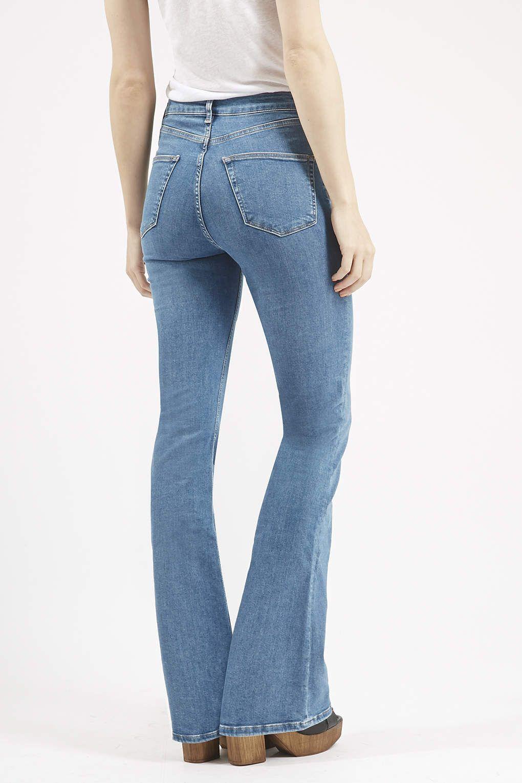 MOTO Jamie Flared Jeans - Topshop
