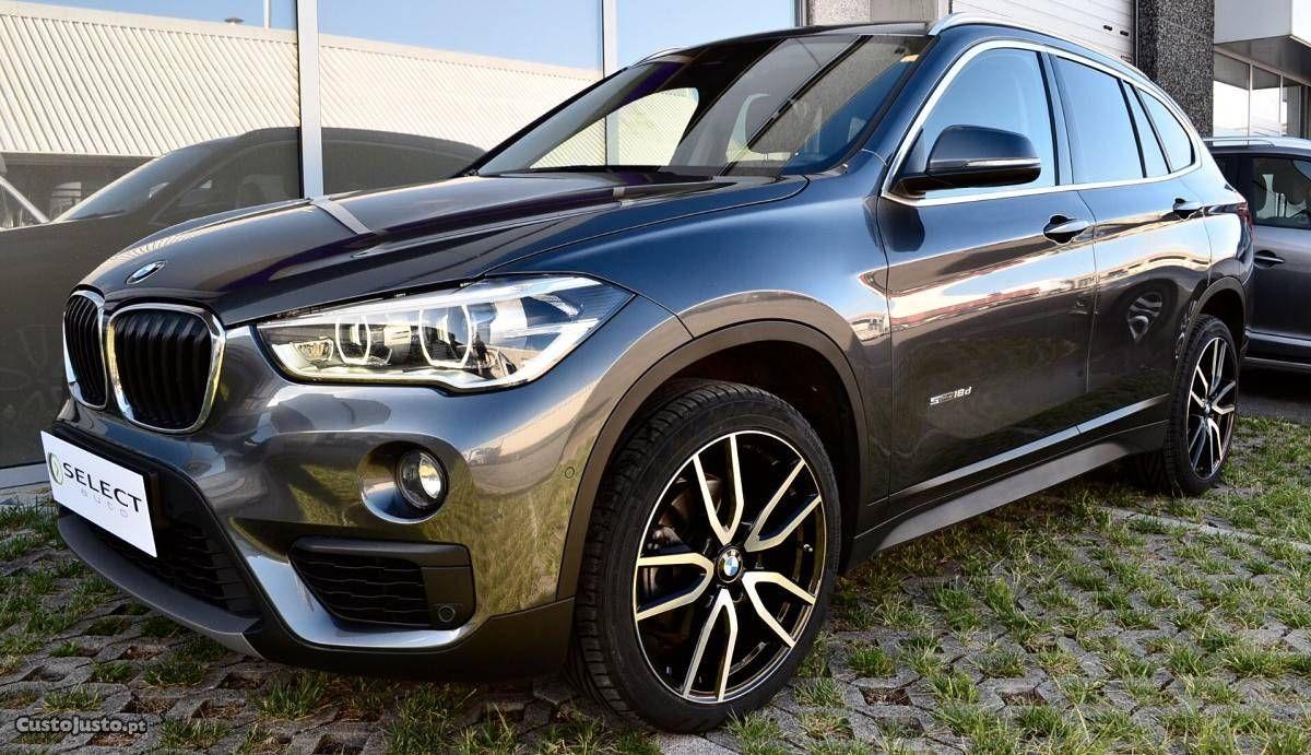 BMW X1 18d Sport Line Auto Junho/17 à venda SUV / TT