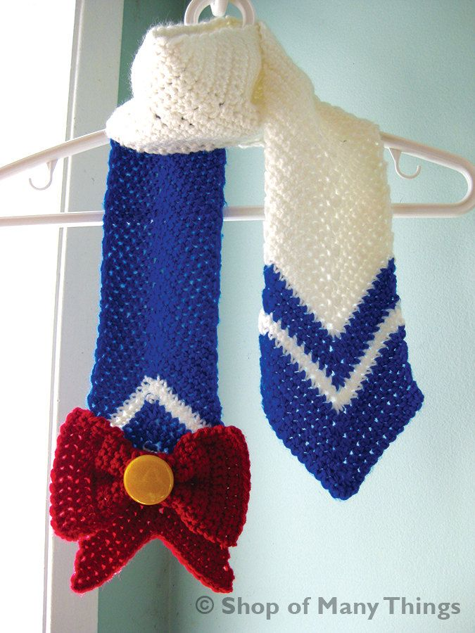 Sailor Moon Super Sailor Moon Inspired Scarf Projects To Try