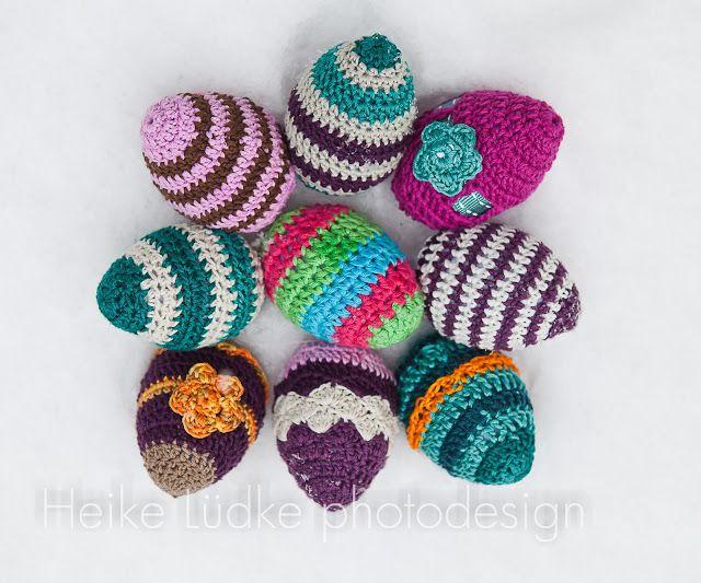 easter crochet eggs... lovely presents | TEJIDOS!!! | Pinterest ...