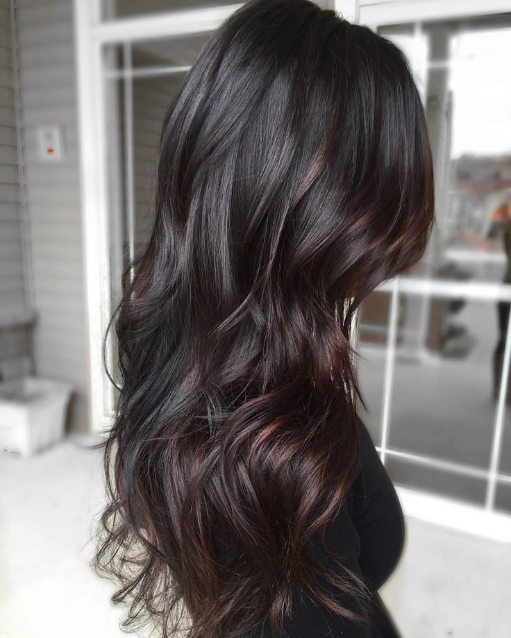 25 Balayage Hair Color Ideas For Black Hair In 2019 With Hairstyle Black Hair Balayage Brown Ombre Hair Hair Styles