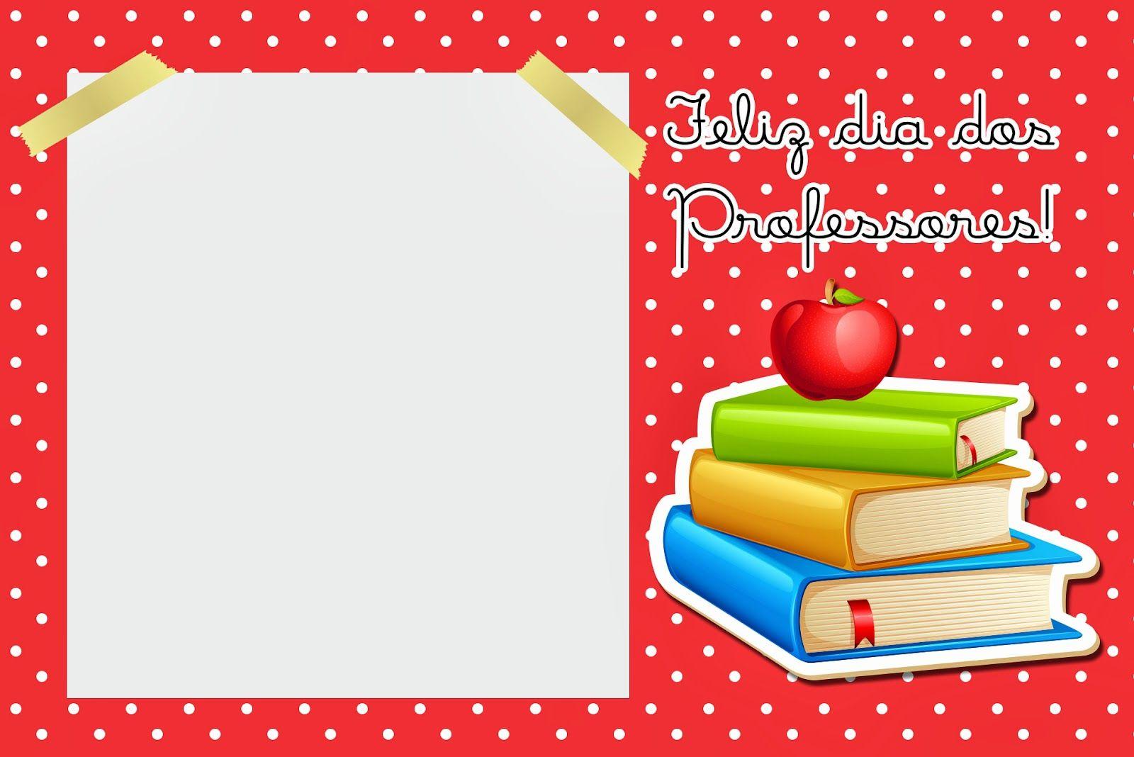 Dia dos Professores - Mini Kit com molduras para convites, rótulos ...