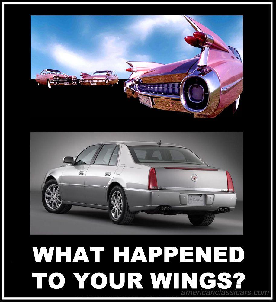 Cadillac Deville Gearhead Humor Pinterest Bilar Klassiska
