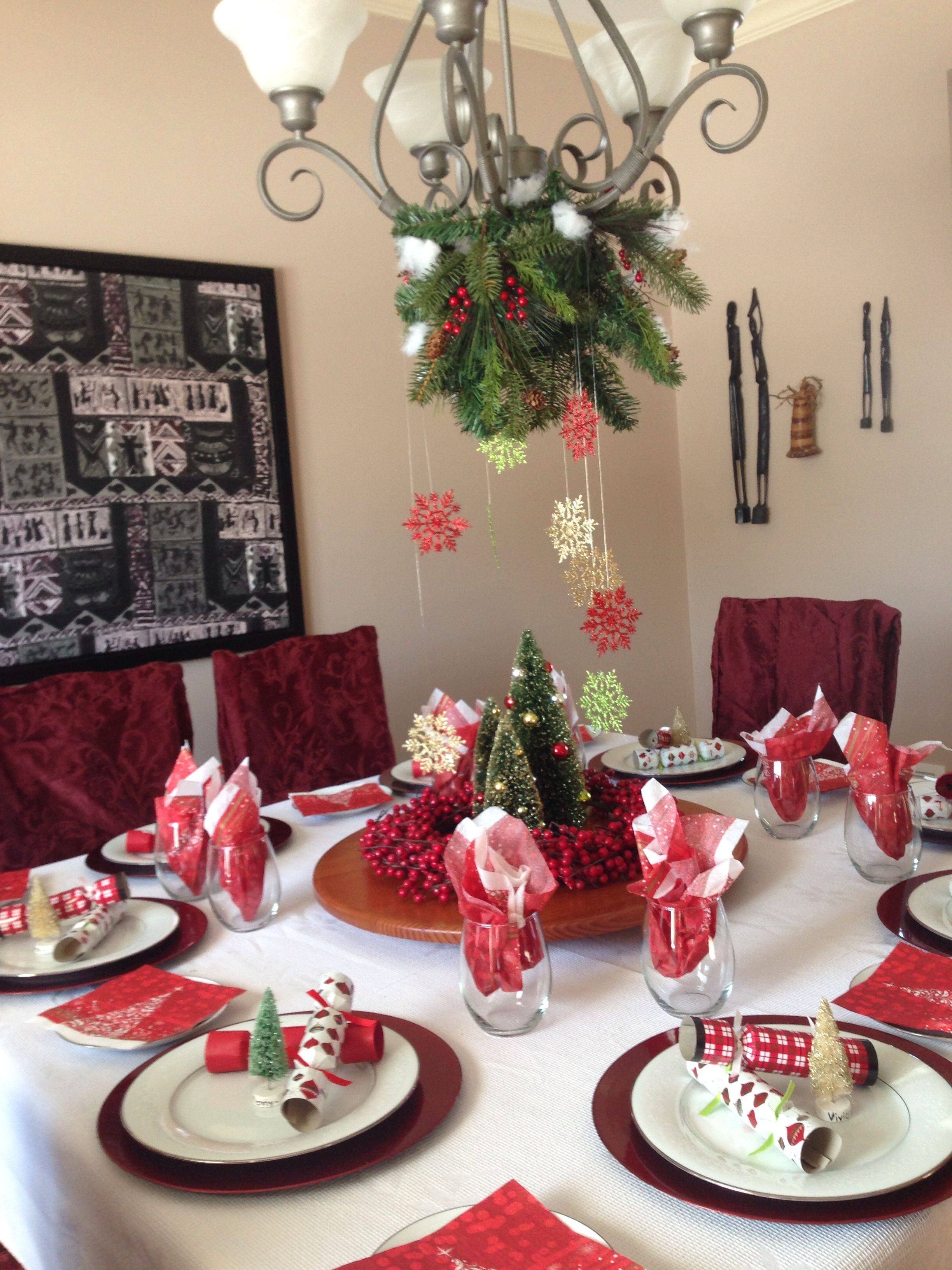 Christmas Table With Images