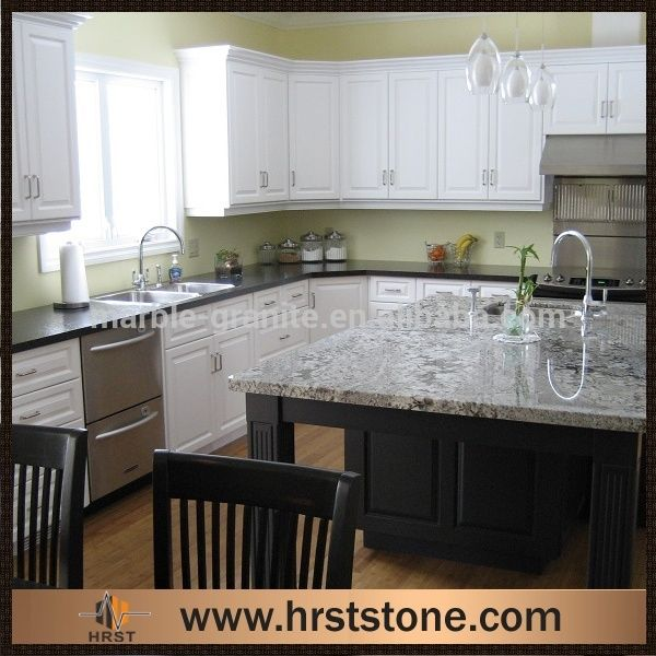 Crema Atlantico Granite Countertop With Espresso Cabinet (basement Bathroom)