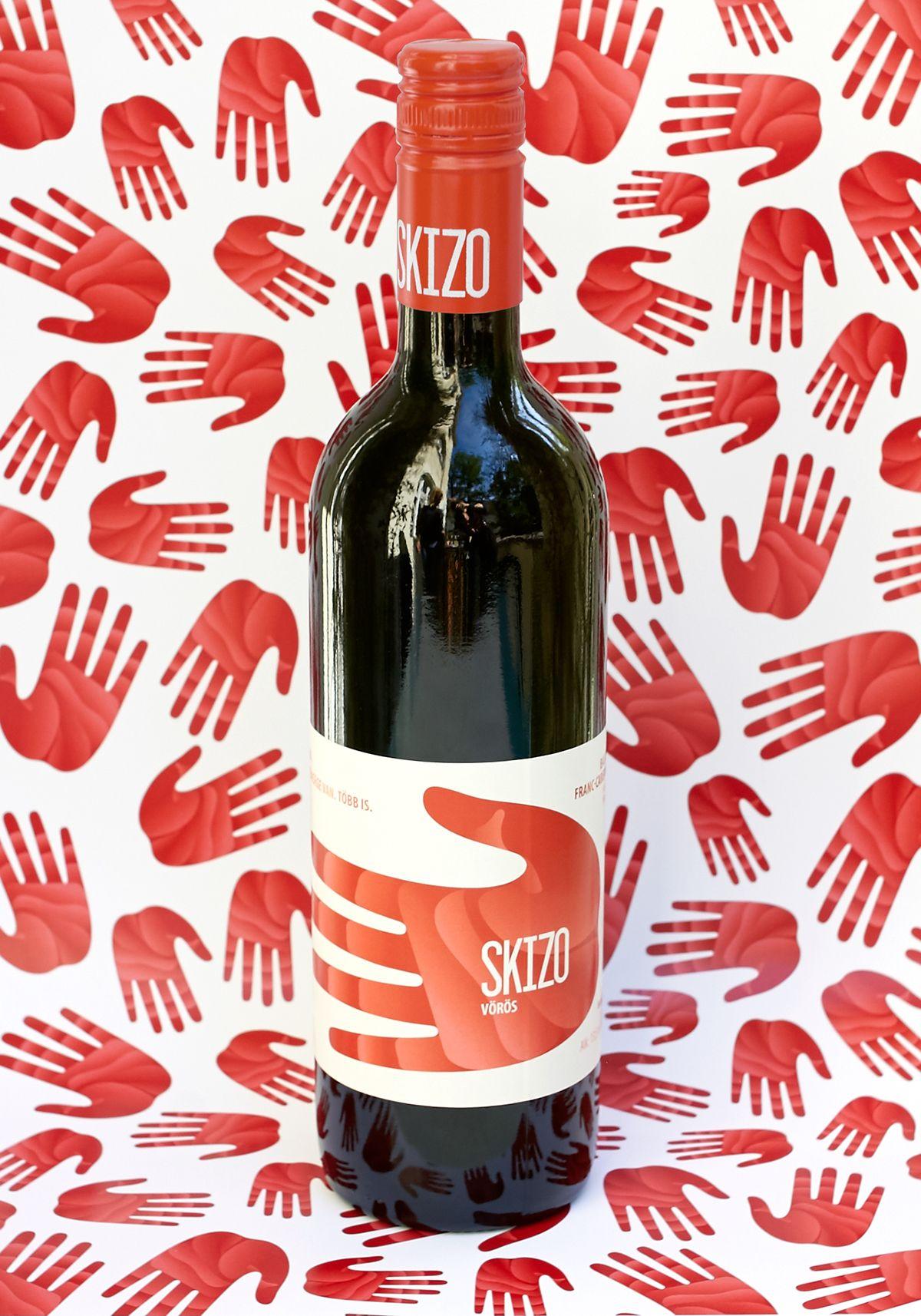 Consulta Este Proyecto Behance Skizo Wine Label Family Etiquetas De Vino Vino
