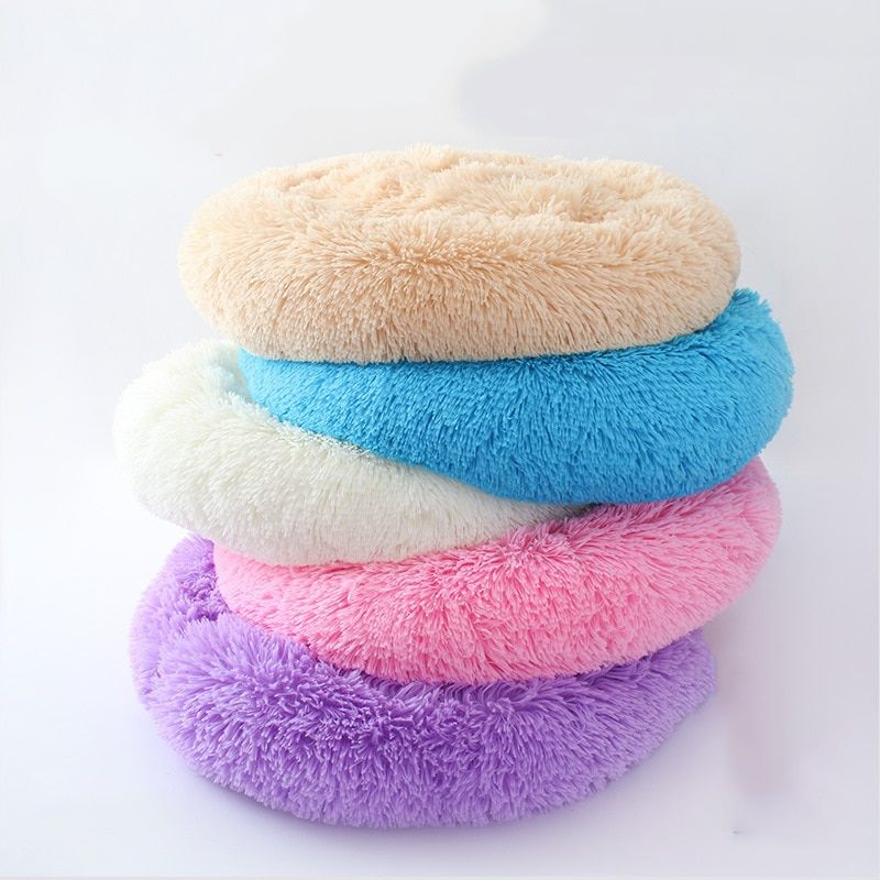 Photo of Round Washable Pet Dog Bed, Cat Bed, Dog Bed, Breathable Small Dog Sofa, Super Soft Plush Pillow Products for Dogs-in Houses, Cages and Pens from Home & Garden on Aliexpress.com | Alibaba Group free shipping worldwide