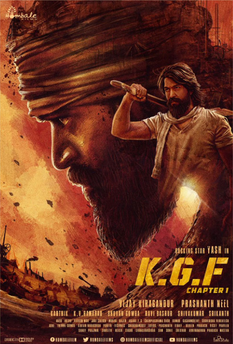 K G F Chapter 1 (2018) Hindi Pre DVDRip [Audio Line] x264 AC3 MKV