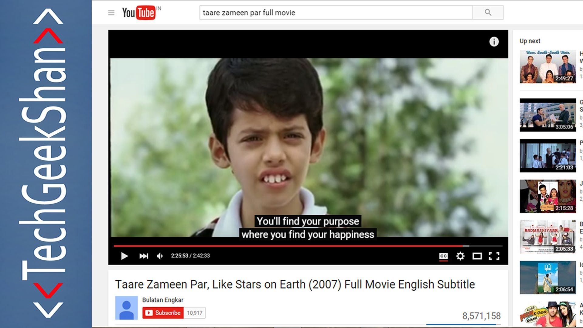 How To Download Subtitles Cc From Youtube Like Stars On Earth Subtitled Youtube
