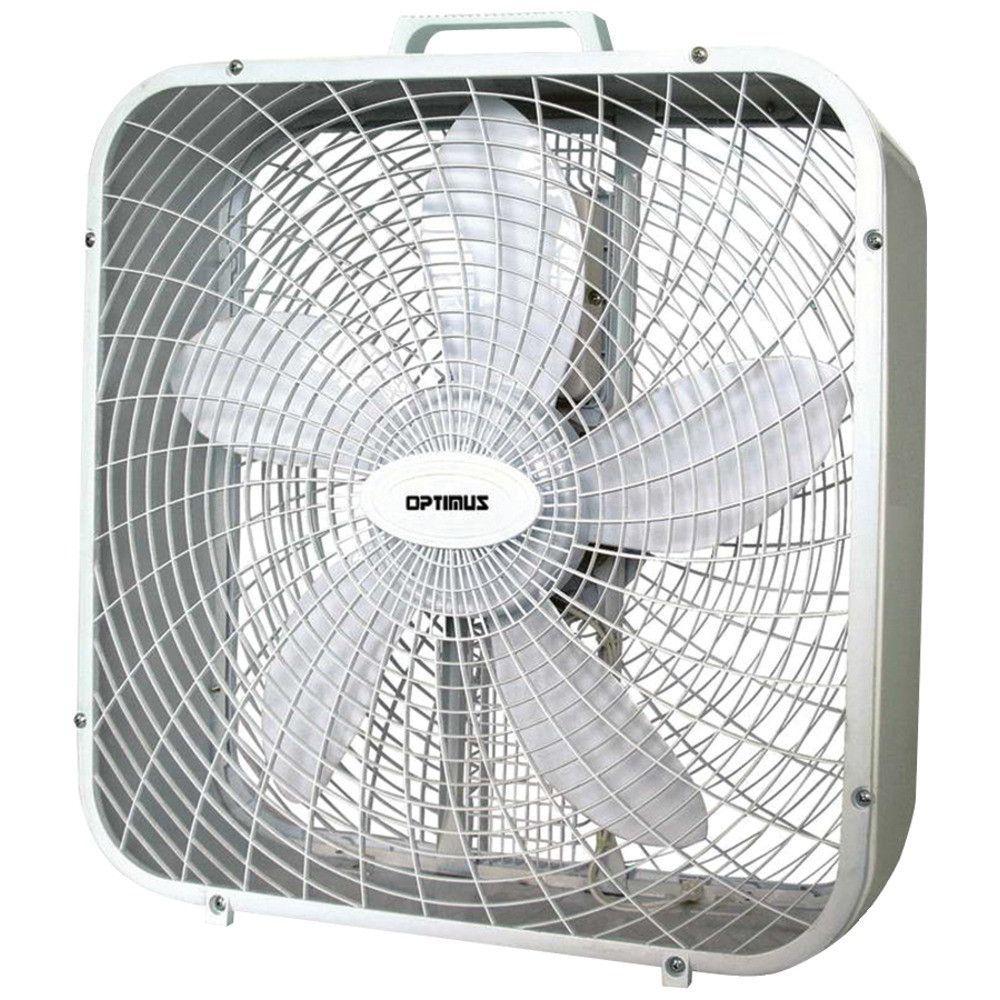 Optimus Box Fan 20 34 Box Fan Floor Fan Fan